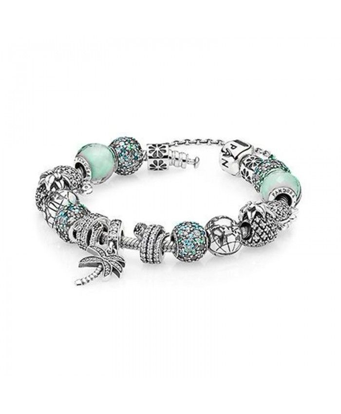 Pandora Gift set | Charm bracelet, Pandora bracelet charms, Beach ...