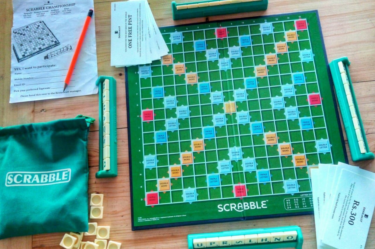 All wordly things Board games, Scrabble, Event