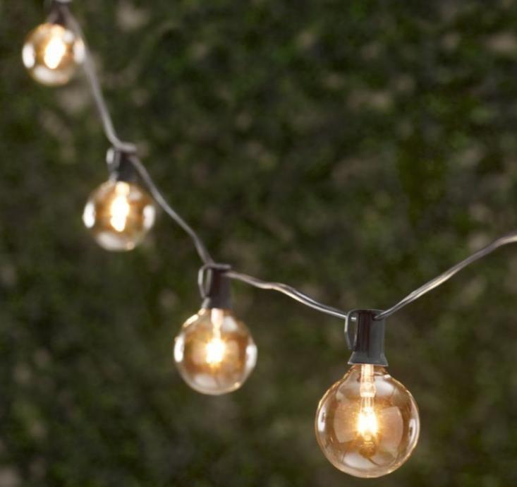 String Light Bulbs Outdoor 10 easy pieces cafe style outdoor string lights light string 10 easy pieces cafe style outdoor string lights gardenista workwithnaturefo