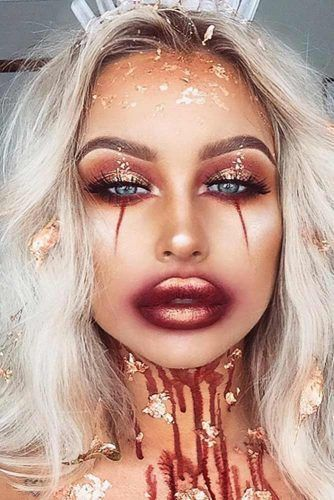 Sexy Halloween Makeup Looks That Are Creepy Yet Cute ★ See more: glaminati.com #cuteideas