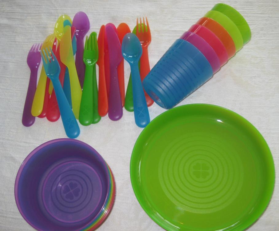 Ikea Mini Shopping Spree Diy Open Shelving Kids Dinnerware Ikea Diy