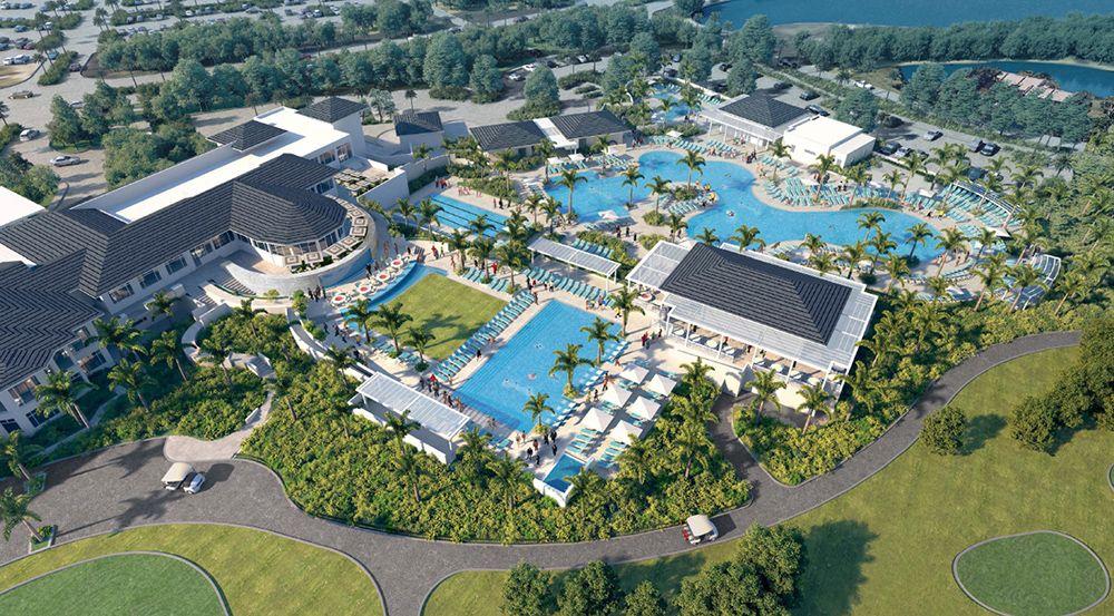 Boca west cc launches 45m upgrade will add aquatics