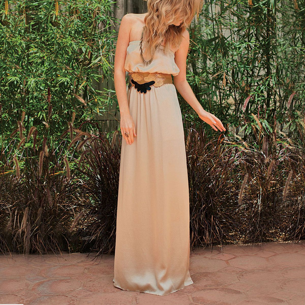 Maxi dress cream wearable art pinterest maxi dresses clothes