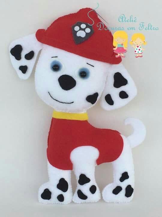 Patrulla canina patrulla canina pinterest patrulla - Munecos patrulla canina ...