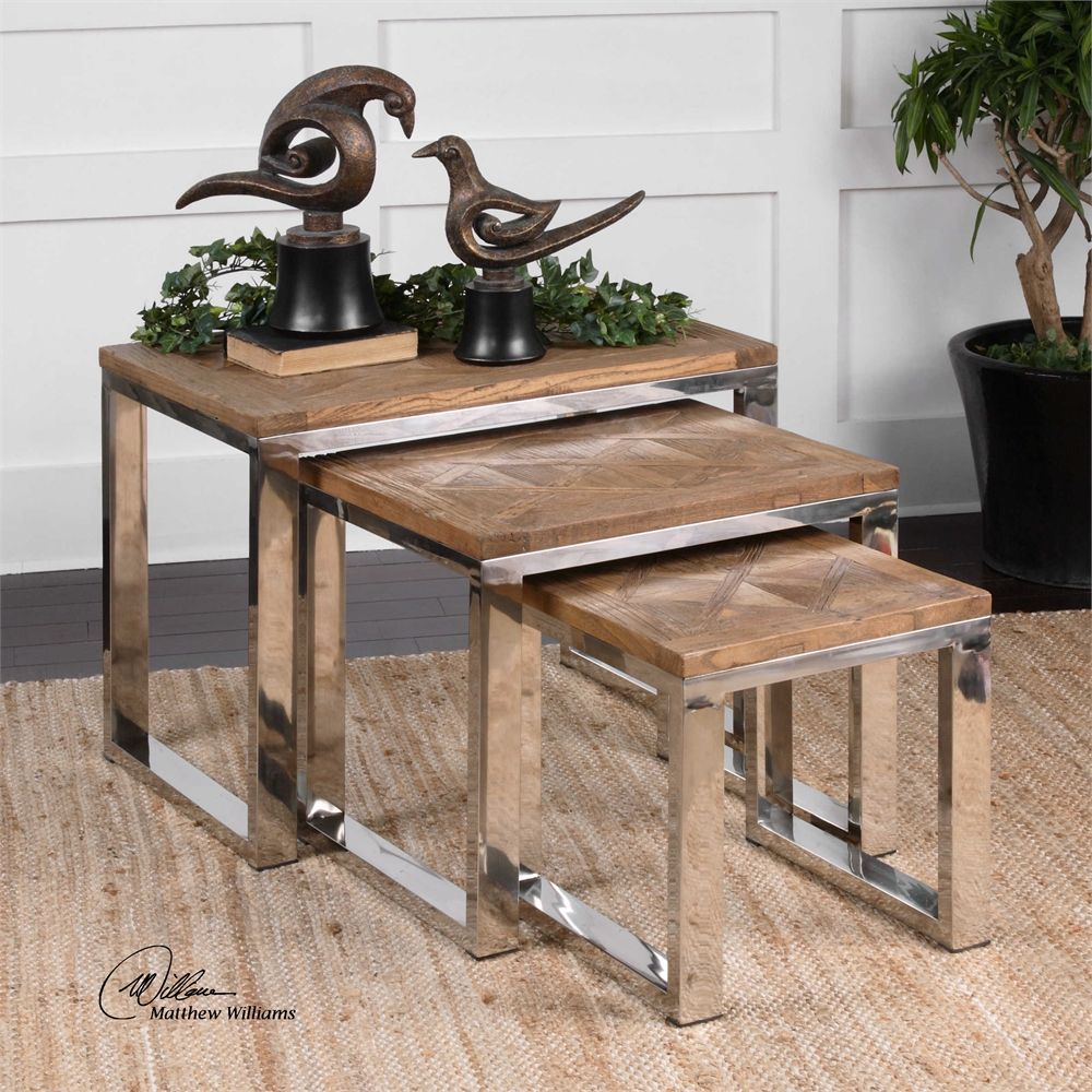 Uttermost hesperos nesting tables tish u tony pinterest living