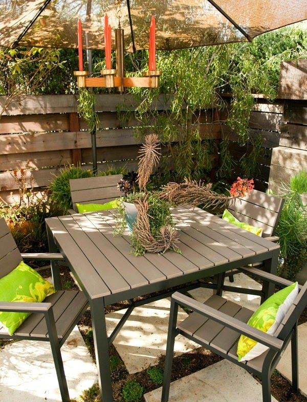 Decoracion de patios pequenos y estrechos jardines gardens pinterest decoraci n de for Decoracion patios pequenos