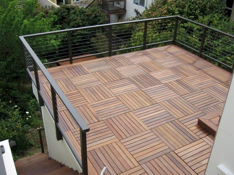 55 Creative Wooden Deck Porch Design Ideas In 2020 Deck Flooring Wooden Outdoor Flooring Patio Flooring