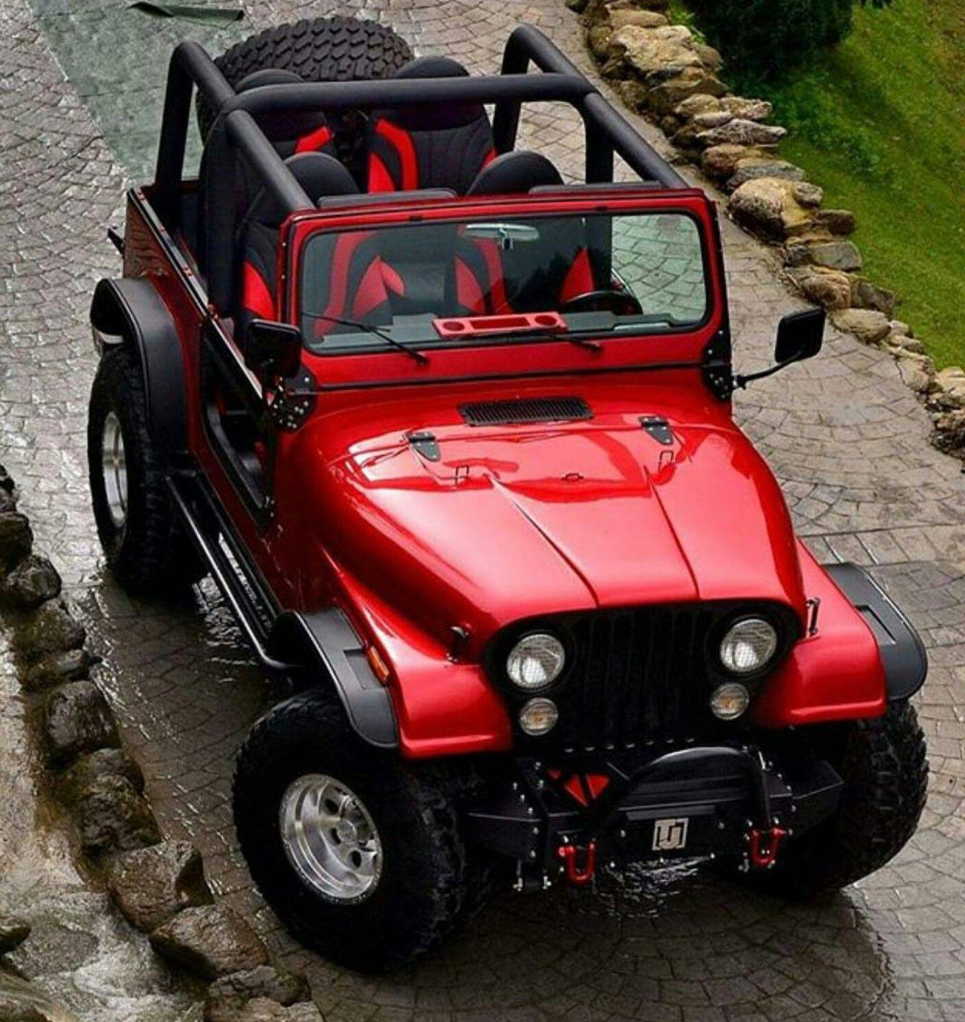 Pin De J C En Jeep Willys To Wrangler Coches Todoterreno