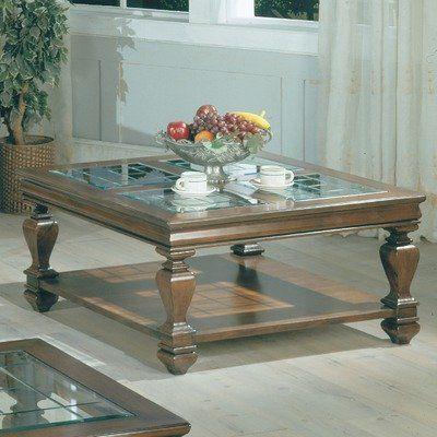 Amazon Com Square Coffee Table In Espresso Home Kitchen