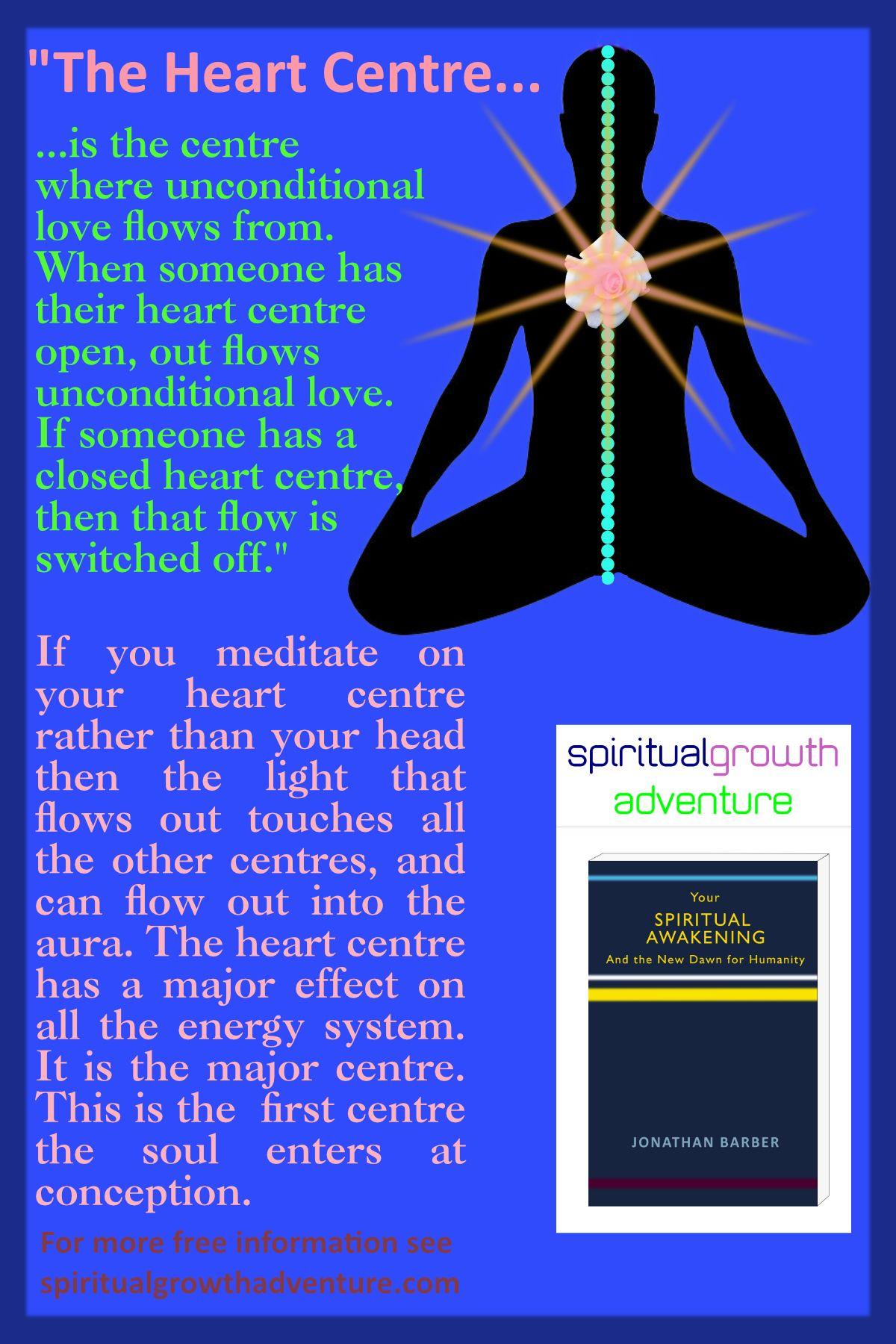 The Heart Centre and Meditation  Meditation on the heart
