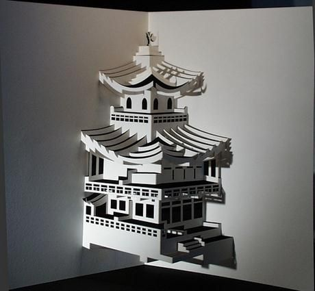 origami buildings - Google Search