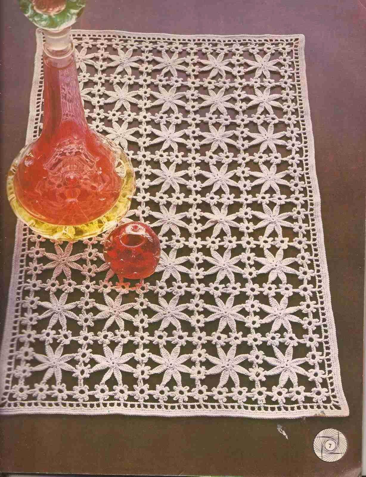 126 Camino de Mesa a Crochet o Ganchillo | crochet | Pinterest