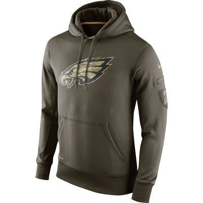 new arrivals a21f8 9577b Philadelphia Eagles Salute to Service Hoodie, Tee, Jersey ...
