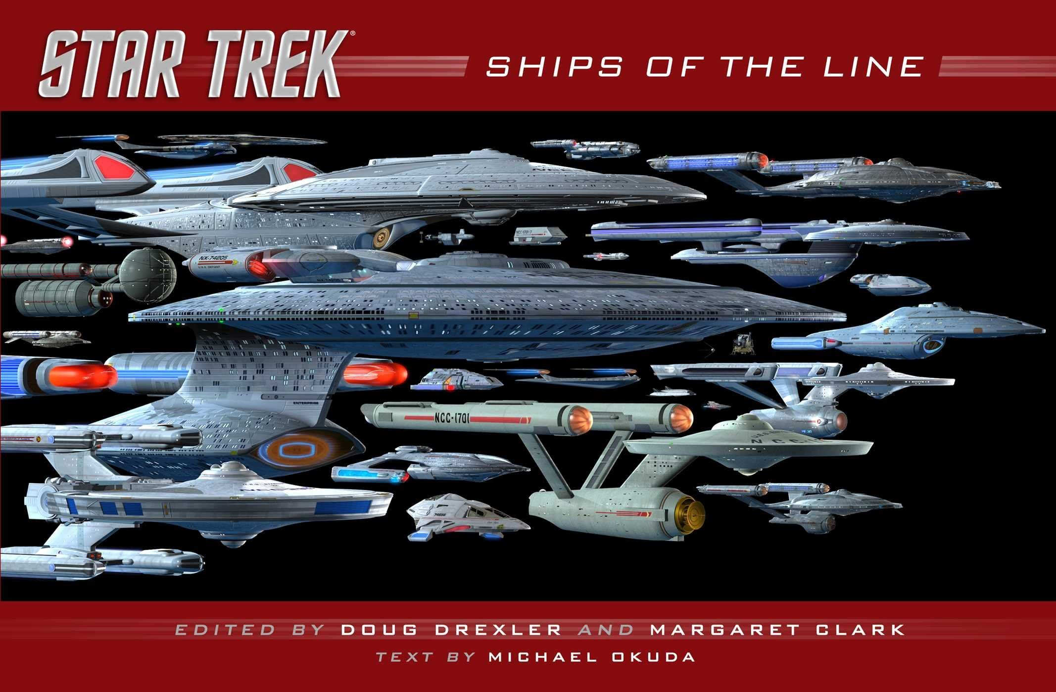 Star Trek: Ships of the Line: Doug Drexler, Margaret Clark: 9781476782584: Amazon.com: Books - See more at : http://www.amazon.com/gp/product/147678258X/ref=as_li_tl?ie=UTF8&camp=1789&creative=390957&creativeASIN=147678258X&linkCode=as2&tag=freeadvert003-20&linkId=LNBI33RQPGHGITLR
