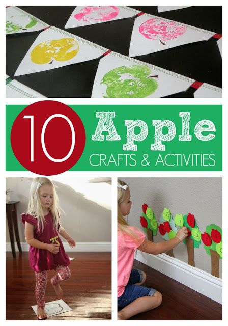 Toddler Approved!: 10 Apple Crafts and Activities for Kids