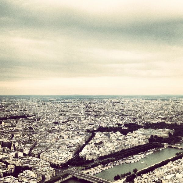 Paris by Danilo Piga, via Behance
