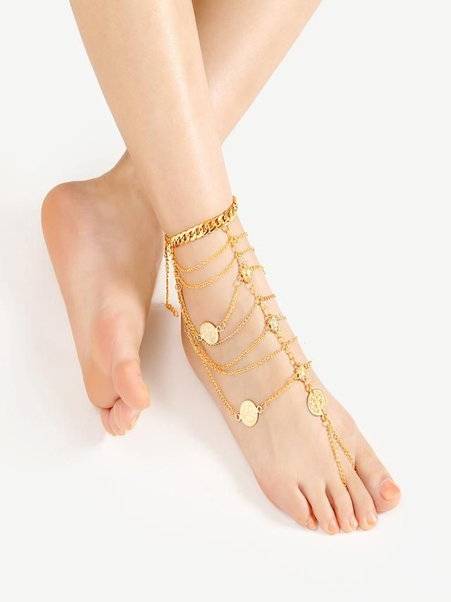 philip jones shopping infinity anklet