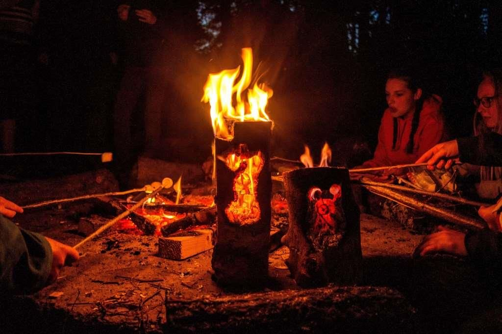 picture of the week week 17 fire face guardians bushcraft