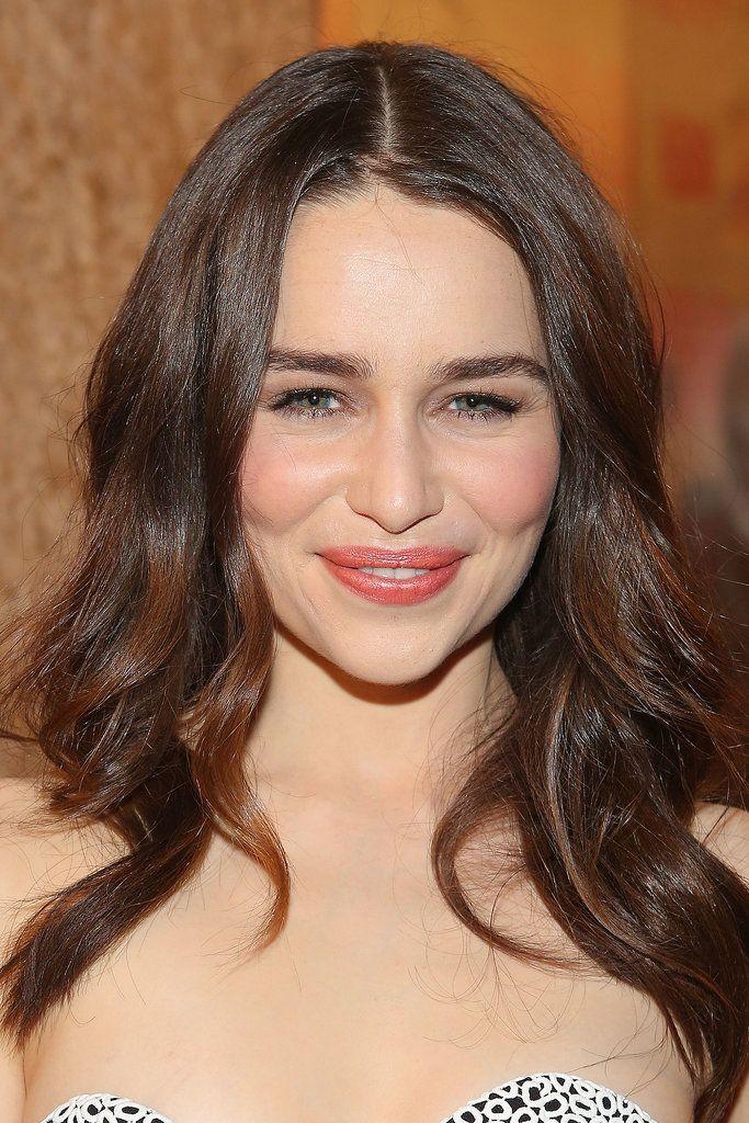 Emilia Clarke at the Golden Globes