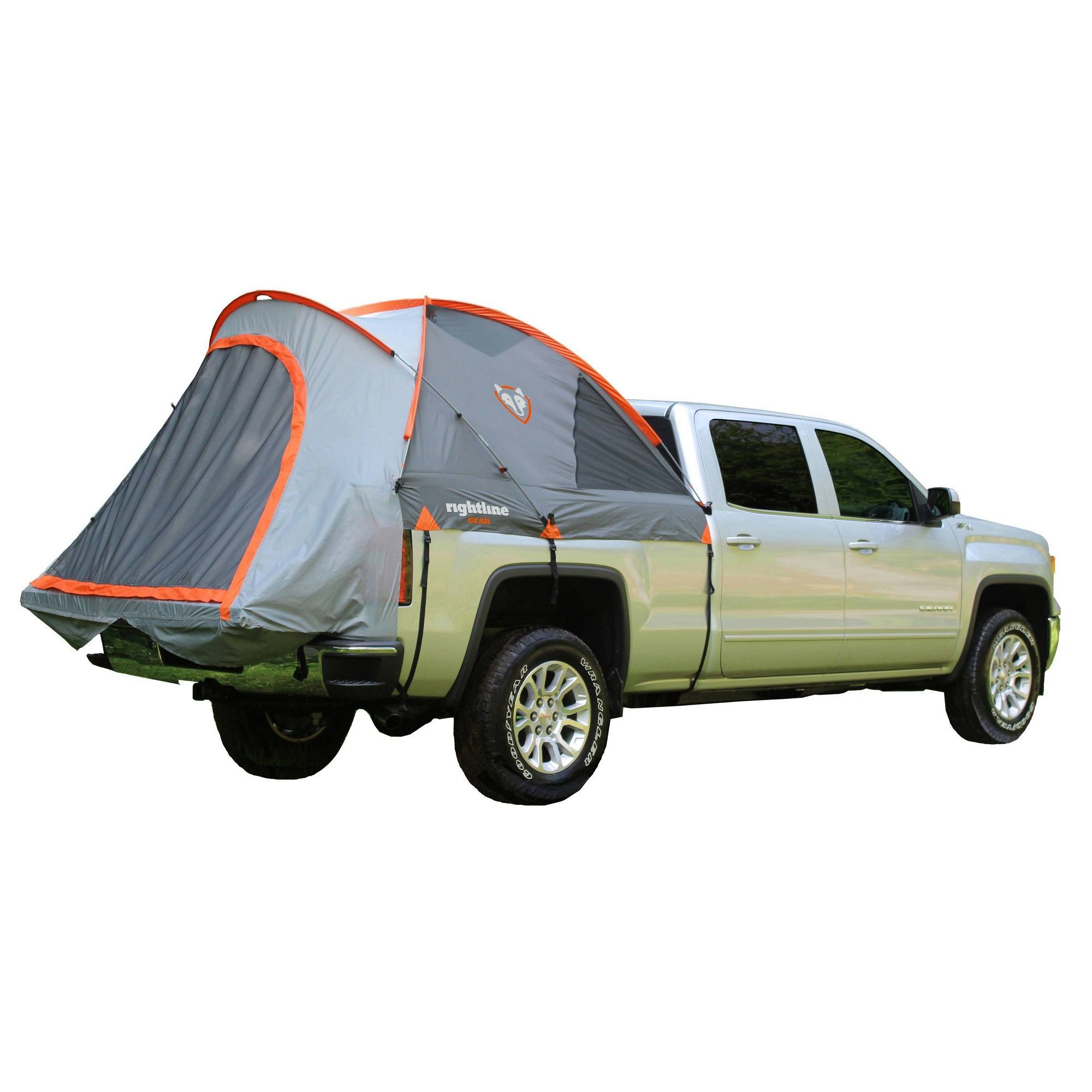 Rightline Gear 6' Mid Size Long Bed Truck Tent Gray