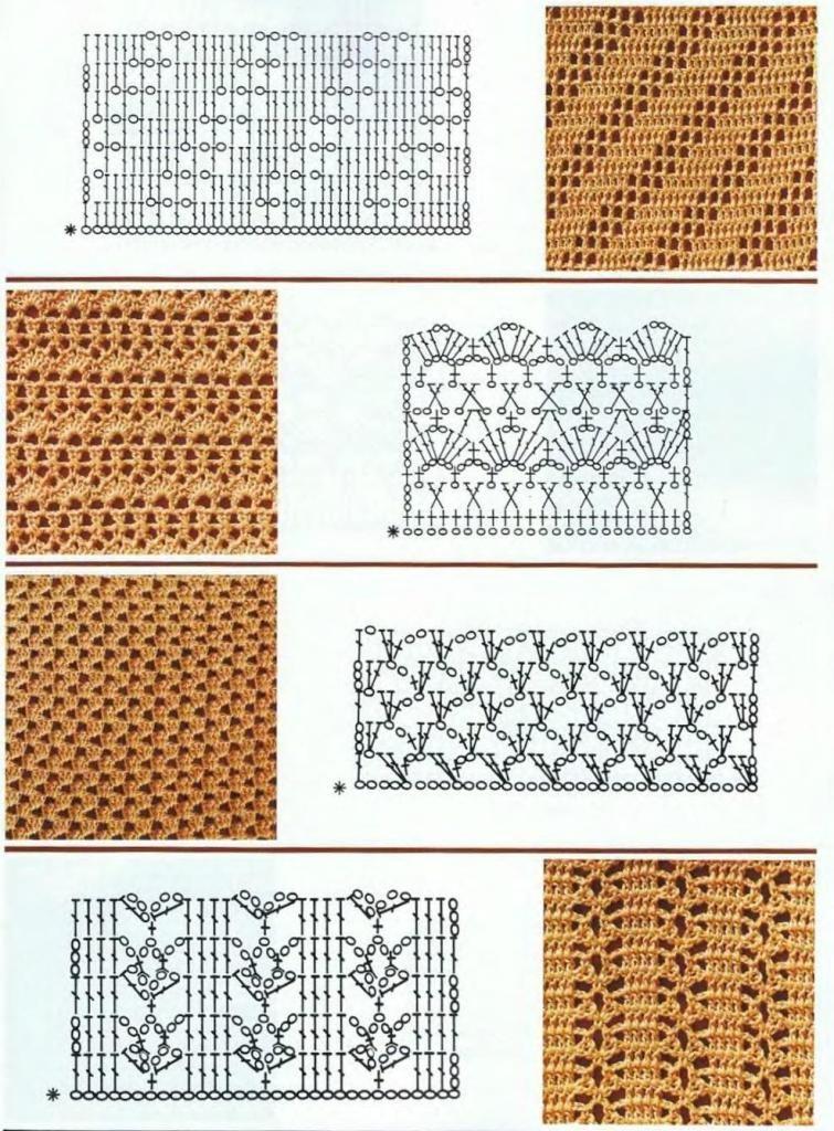 los patrones de ganchillo | Participantes en los patrones de ...
