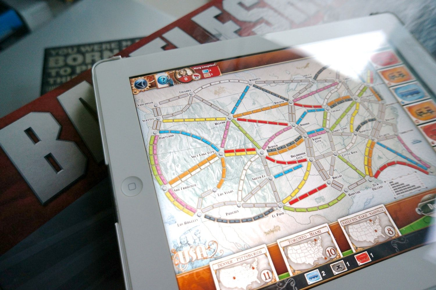Take 5 Board Games to Play on the iPad Board games