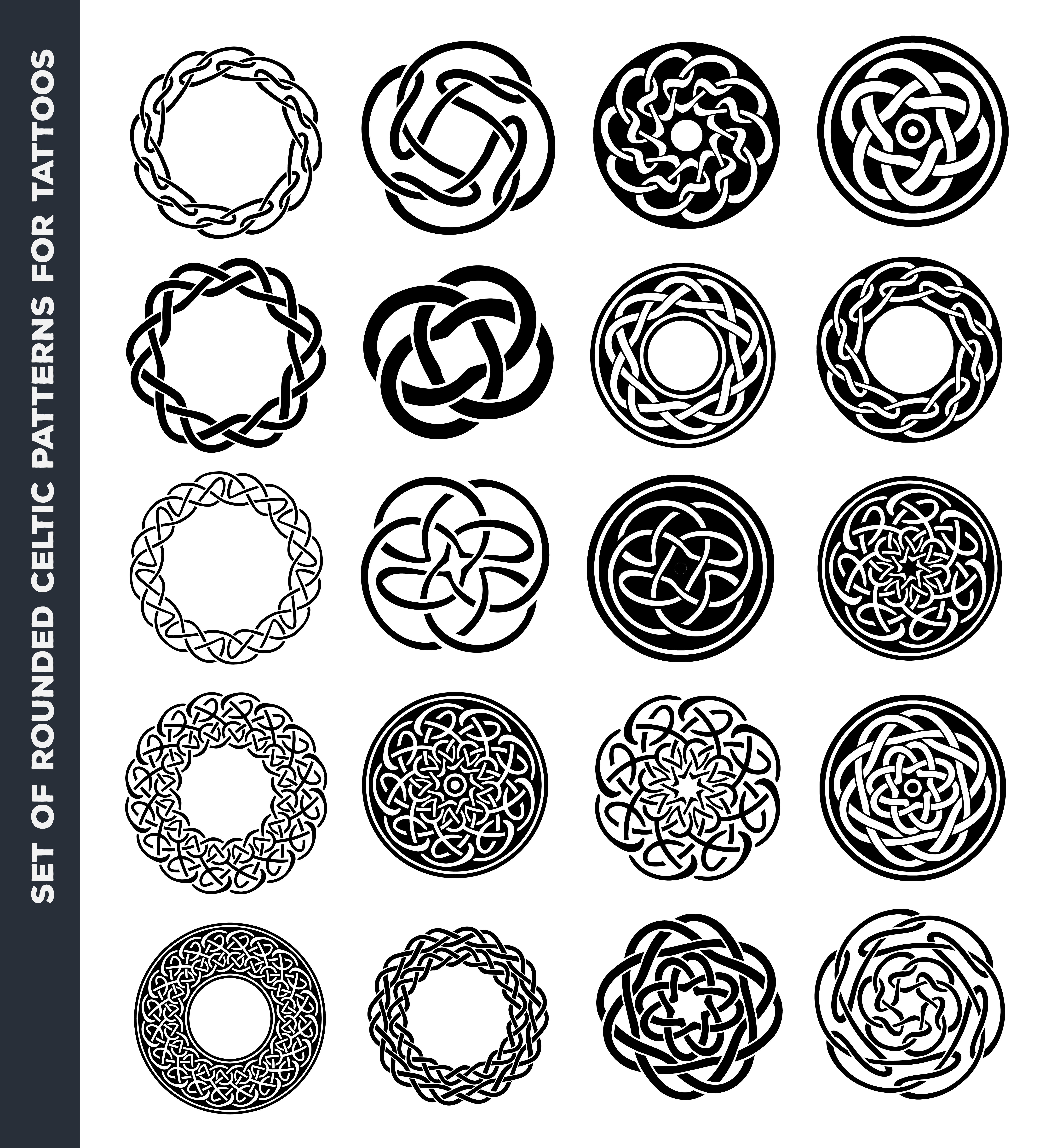 Celtic Circles And Rings For Tattoo Design Celtic Circle Circle Tattoo Design Circle Tattoos