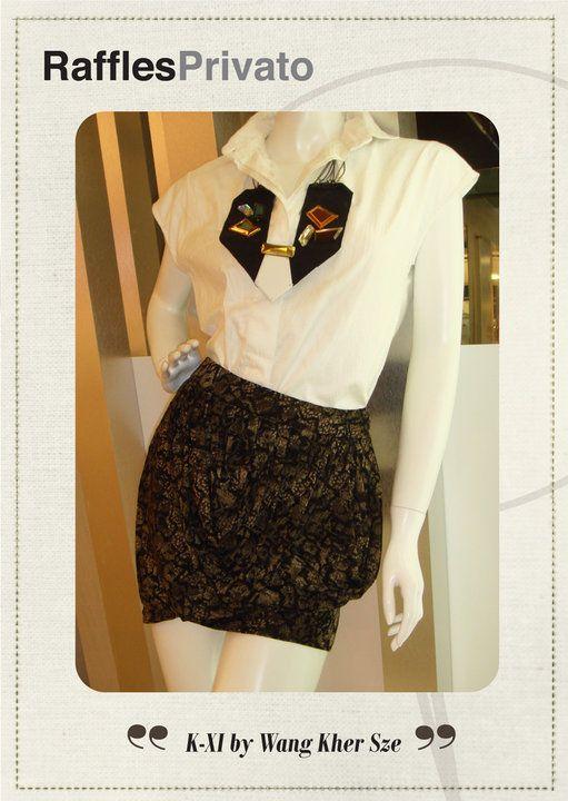 Fashion Design By Wang Kher Sze Raffles Privato Event Singapore Fashion Design Fashion Short Dresses