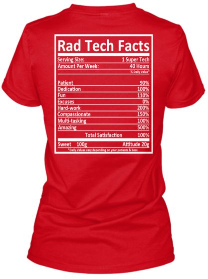rad tech essay The behavior of rad tech students essay sample towards continuing studies after post graduate courses chapter 1: introduction students who have already finished their bachelor degrees are usually faced with the decision of actually continuing their studies.