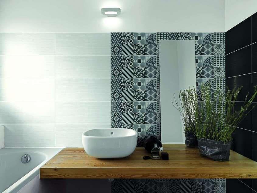 Arredare il bagno con le cementine rivestimento per il bagno di