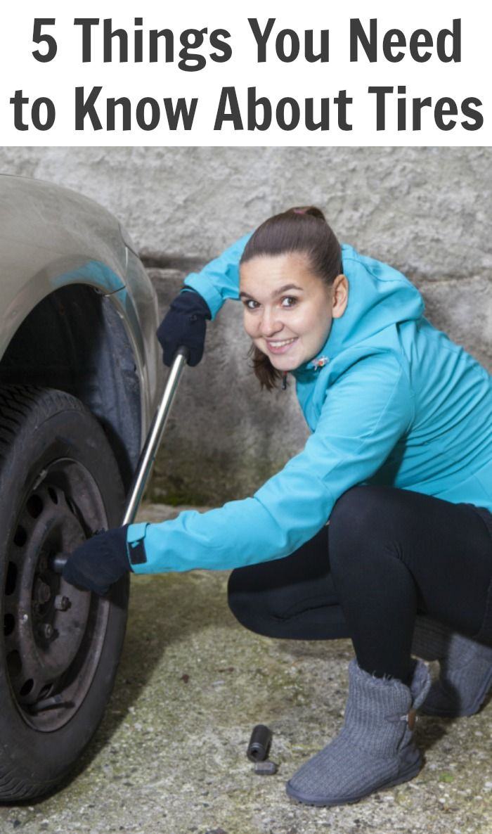 5 Things You Need to Know About Tires