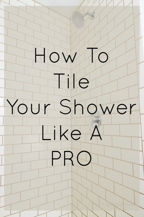 Photo of How to tile your shower like a DIY pro