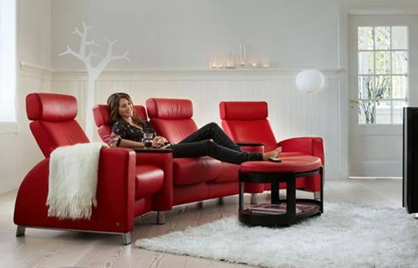 Stressless Recliner Sofas Home Cinema Modern Reclining Sofa