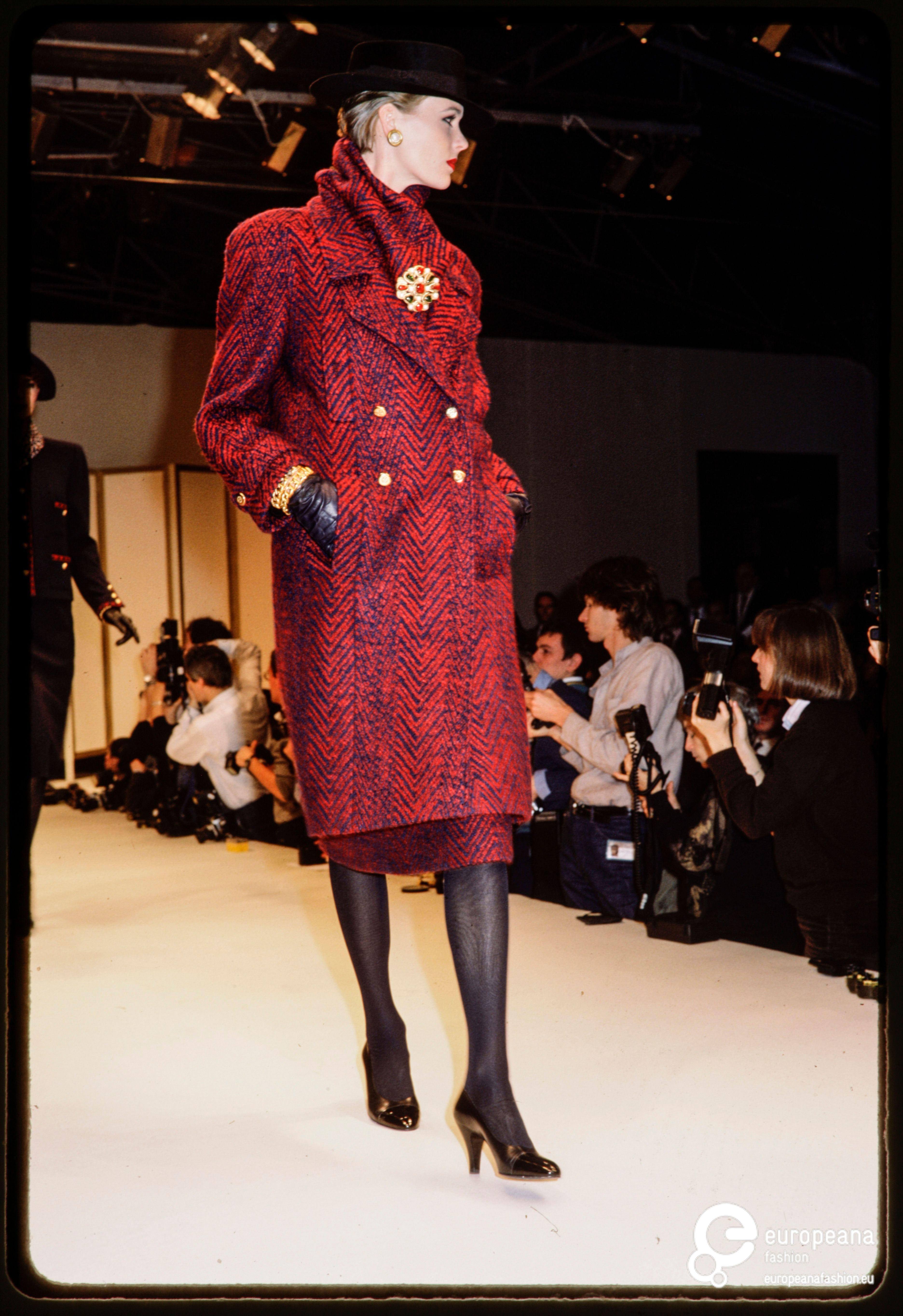 France, Paris, 25-03-1984. Fashion show of Chanel ( by ...