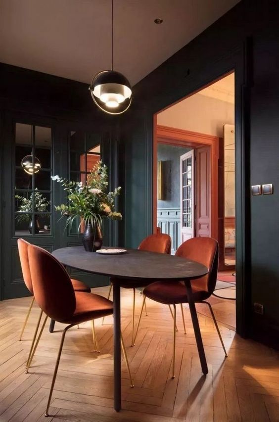 An industrial dining room style for the stars it   on table design also rh pinterest