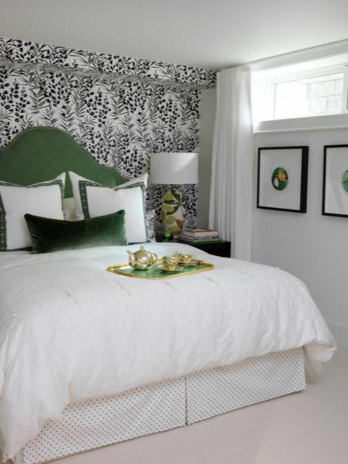 tapetenmuster wangestaltung wohnzimmer wild Wandgestaltung - wandgestaltung schlafzimmer dachschräge