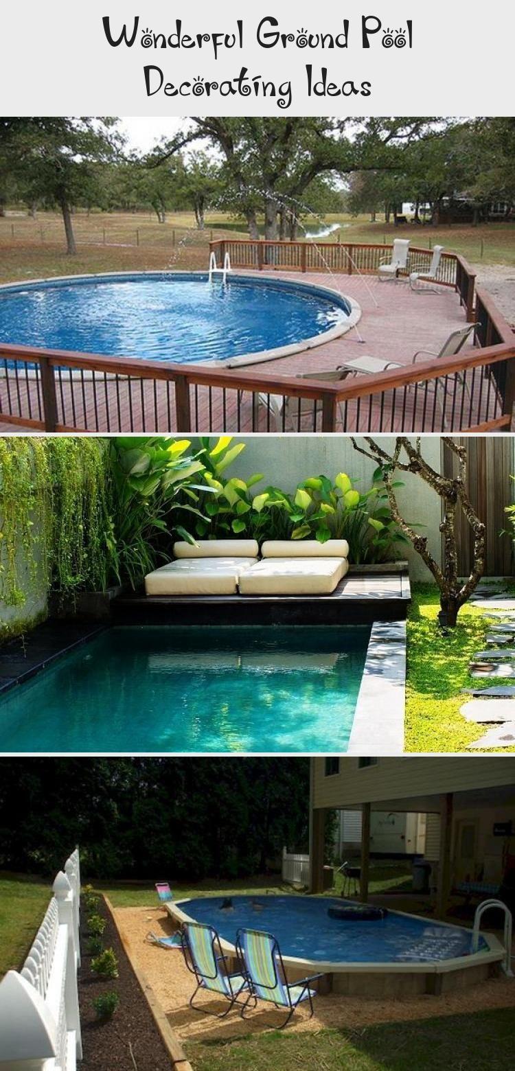 Explore Wonderful Ground Pool Decorating Ideas On My Blog See