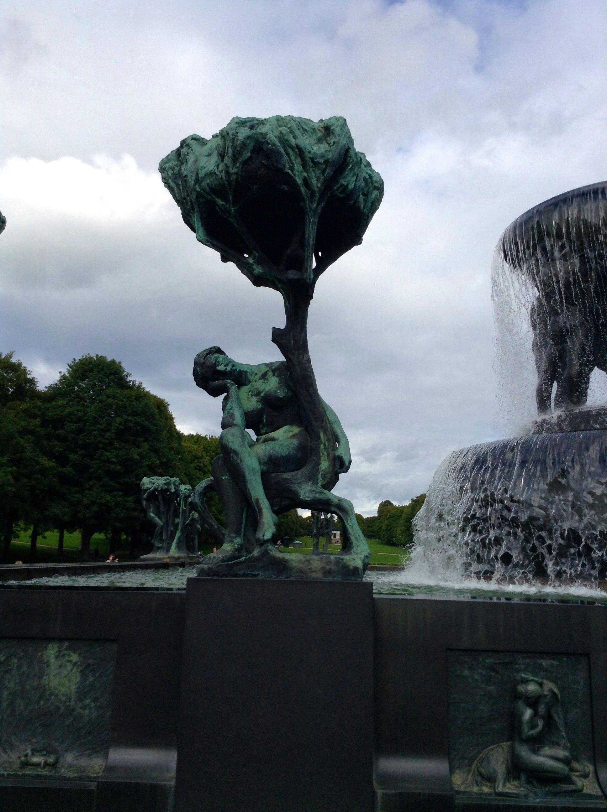 Praça em Oslo