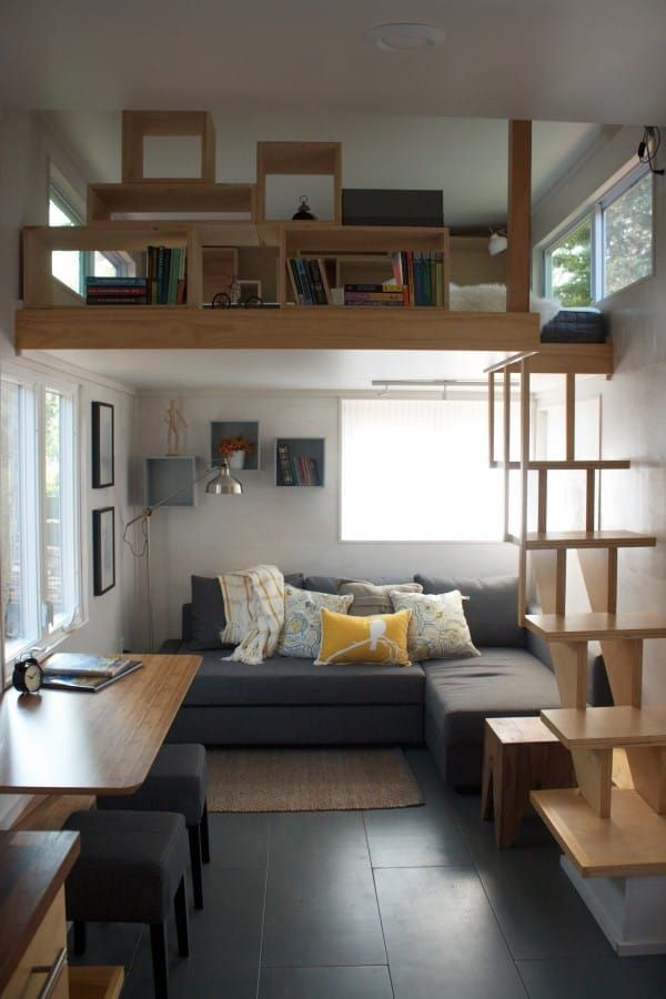 This sq ft tiny house is  geometric masterpiece also best small images in houses little rh pinterest