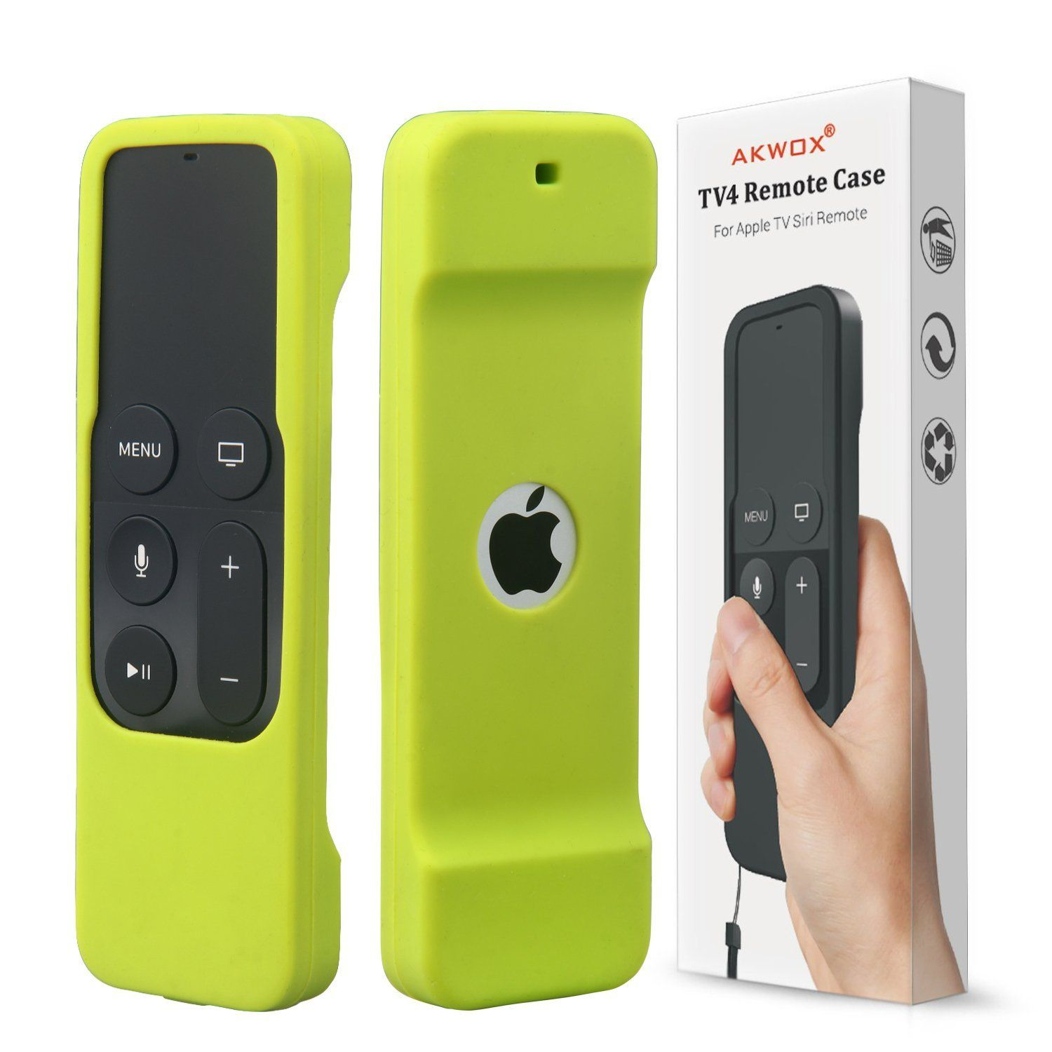 Shock Proof Silicone Cover for New Apple Tv 4th Generation