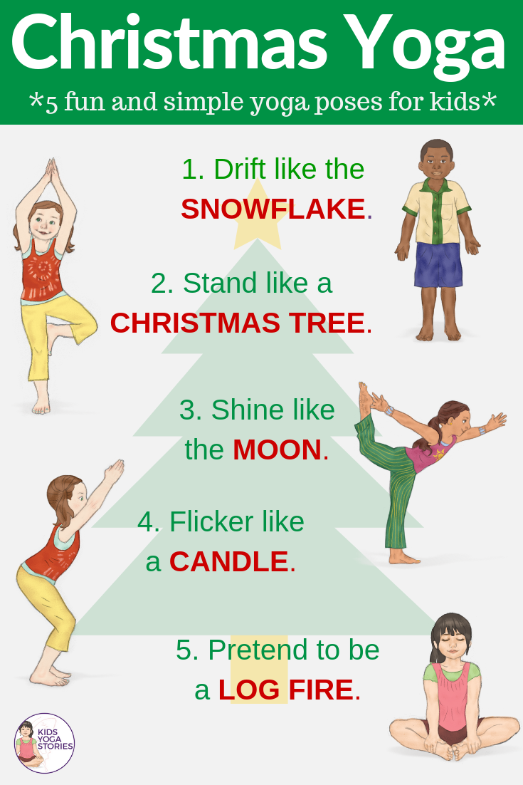 picture about Yoga Poses for Kids Printable referred to as Preschool Yoga Poses Totally free