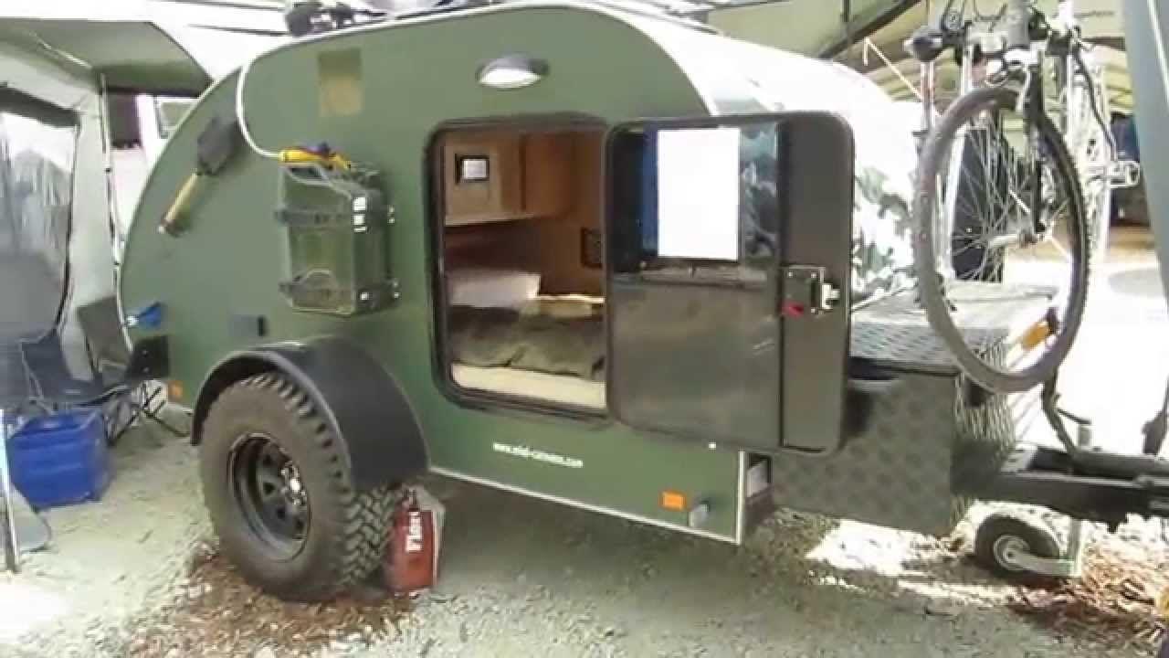 Abenteuer Offroad 2014 Mini Caravan Freerider Teardrop