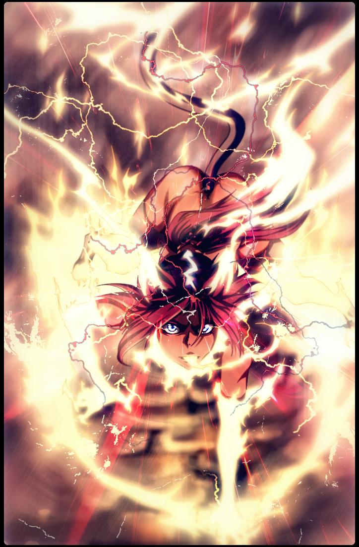 Shihouin Yoruichi - God Of Thunder by Kiyoshi-sempai.deviantart.com on @DeviantArt