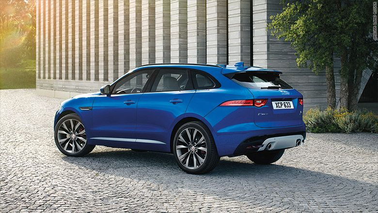 Jaguar Unveils New F Pace Suv With Images Jaguar Suv Jaguar