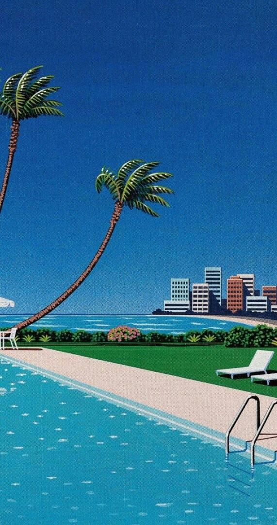 Take a dip into Paradise VaporwaveAesthetics Vaporwave
