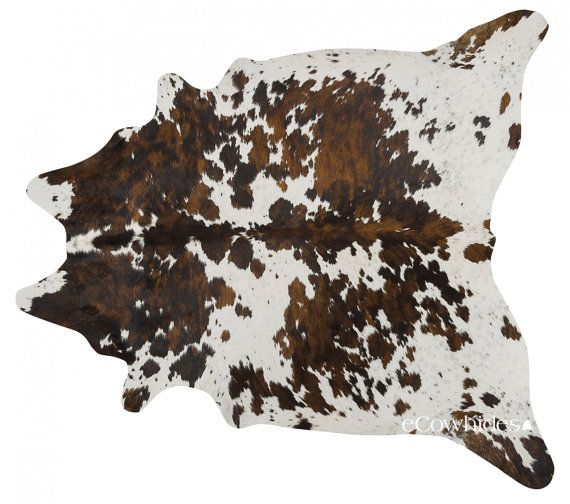 Tricolor Brazilian Cowhide Rug Cow Hide Rugs Xl By Ecowhides Cow Hide Rug Cow Hide Area Rug Brazilian Cowhide