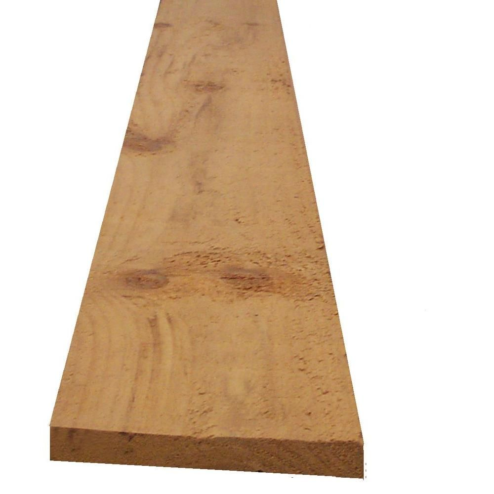 1 In X 6 In X 8 Ft Rough Sawn Spruce Fascia Board Fascia Board Home Depot Fascia
