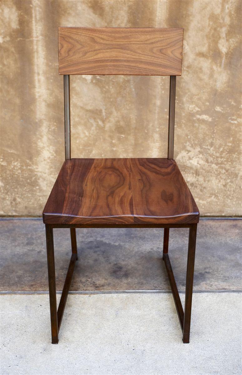Holz Und Metall Esszimmer Stuhl | Stühle | Pinterest | Stuhl, Holz ...