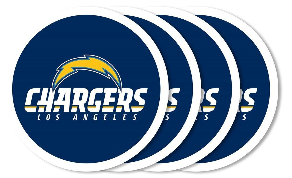Hobby Store San Diego >> Los Angeles Chargers Coaster Set 4 Pack Los Angeles Chargers San