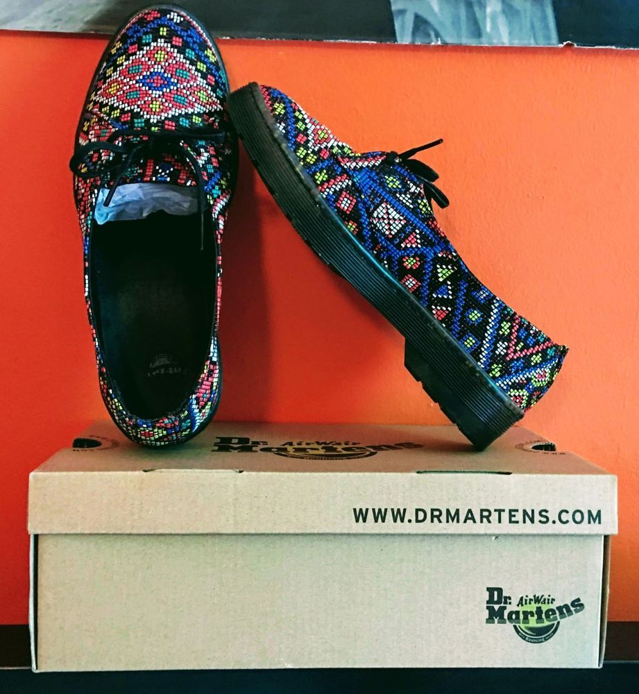 6f72c190c81 Brand New DR. MARTENS Morada Aztec Weave Size 6 (Very RARE) #fashion ...